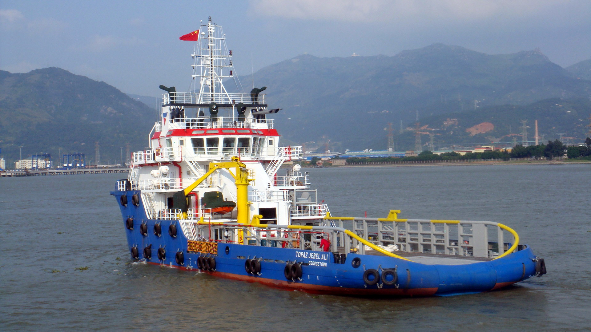 59m Anchor Handling Tug Supply Vessel, AHTS by Southeast